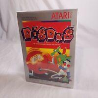 NEW! Sealed! Atari 2600 DigDug GUARANTEED! In plastic case See pics!