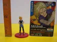 Dragonball Z Mini Figure Android 18 With card 30-3-26 Akira Toriyama Japan