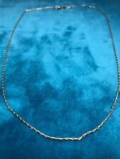 """Beautiful 9"""" 14K Chain Necklace"""