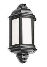 Knightsbridge 230V IP54 LED Half Wall Lantern PIR x1