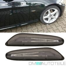 BMW 1er E81 E82 E87 E88 X1 E84 Seitenblinker LED SET Rechts Links Schwarz Smoke