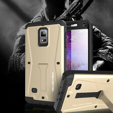Samsung Galaxy Note 4 Hybrid Armor Hard Case built-in Screen Protector/Kickstand