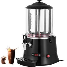 More details for vevor 10l electric hot chocolate machine milk tea choco dispenser coffee heater