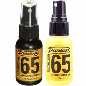 Jim Dunlop System 65 Guitar Lemon Oil & Guitar Polish Set