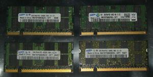 2GB 4GB 8GB SAMSUNG DDR2 RAM Markenspeicher 800 MHz SO-Dimm pol.200 PC2-6400S