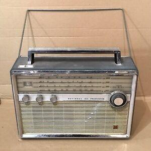 Vintage National Panasonic T-100 Radio - 4 Band, 9 Transistor - Matsushita SW MW
