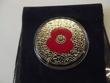 2014 £5 100 Poppies coin commemorating the 100th Anniversary of the start of WW1