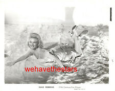 Vintage Gale Robbins SEXY BEARSKIN RUG PINUP 40s Publicity Portrait
