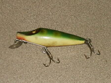 New listing Antique Vintage Heddon Jitterbug Fishing Lure Unmarked Wooden Lure
