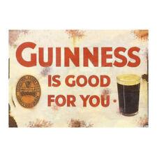 Guinness Stout Vintage Sign Garage Beer Garden Shed Workshop Kitchen Plaque