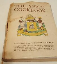 THE SPICE COOKBOOK SPICE HERB COOKERY 1400 RECIPES 1968