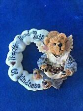 Angel Practice Random Acts of Kindness Vintage Jewelry Brooch Pin Boyd'S Bear