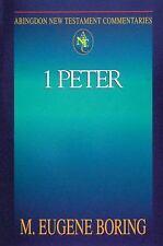 Abingdon New Testament Commentaries: 1 Peter (Paperback or Softback)