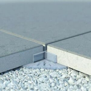 48 Abstandshalter Terrassenplatten Feinsteinzeug Keramikplatten Fugenkreuze 3mm