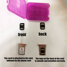 Universal Unlock Turbo Sim Card 4G For iPhone Series 8 7 6S 6 Plus Stable Supply