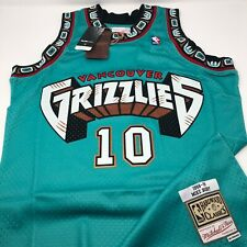 Mike Bibby Vancouver Grizzlies 1998 - 99 Hardwood Classics Jersey Size XL