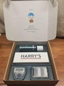 Harry's Razors for Men - Shaving Kit for Men. Shaving gel and 2 blades. NEW**