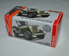 2017 MATCHBOX METAL POWER GRABAG 65TH. ANNIVERSARY '43 JEEP WILLYS FHY34