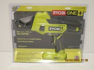 RYOBI P593 18-Volt ONE+ Lith-Ion Cordless PVC and PEX Cutter (Tool Only) NISP FS