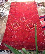 "Moroccan Beni M'Guild tribal rug 350 x 180cm, 11'6""x 5'11"""