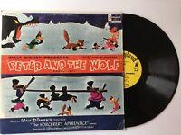 WALT DISNEY Peter And The Wolf-The Sorcerer's Apprentice STOKOWSKI LP+bonus CD
