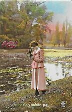 Postcard French I Will Not Forget You 2188 France Vintage