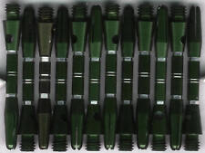 1.5in. 2ba Green/Silver Aluminum Dart Shafts: 3 per set