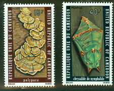 Cameroun #607-8 Fungus set complete, og, Nh, Vf, Scott $210.00