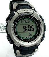 THIN PROTREK COMPASS WATCH PRG110-1 TRIPLE SENSOR TOUGH SOLAR SPORT WATCH