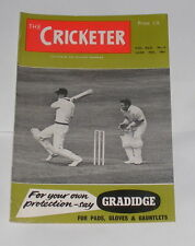 THE CRICKETER MAGAZINE  JUNE 10TH 1961 - 1921, A YEAR OF WRATH BY RONALD MASON