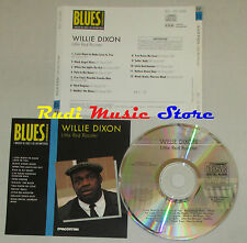 CD WILLIE DIXON Little red rooster BLUES COLLECTION DeAGOSTINI mc lp dvd vhs