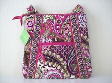 Vera Bradley Hipster - Very Berry Paisley - New With Tags!