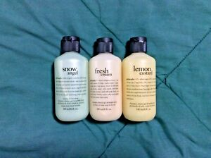 Set of 3 Philosophy Shampoo & Shower Gel (6 oz) Brand New & Sealed (Your Choice)