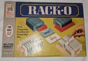 Vintage RACKO Card Game By Milton Bradley 1966 - Complete!