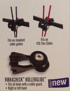 NEW PSE ARCHERY VIBRACHECK ROLLERGLIDE ROLLER GLIDE CABLE SLIDE FOR PSE & OTHERS