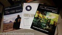 LOT 3- FBI Law Enforcement Bulletins ORGANIZED CRIME MAGAZINE CRIMINAL MOB STORY