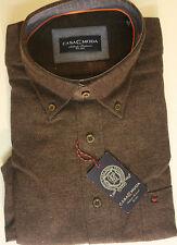 Unifarbene Herren-Freizeithemden & -Shirts mit Button-Down-Kragen CASAMODA