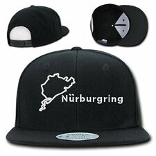 NURBURGRING TRACK CAP HAT SNAP BACK EMBROIDERY TRUCKER CIRCUIT GERMANY F1 F-1