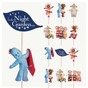 In The Night Garden Mix Cupcake & Party Food Topper Decorations Picks 14 Pack