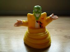 The Mask by Burger King 1998 Toy Self Moving and Turning Fun Green Loki God Jim