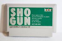 SHOGUN FC Nintendo Famicom NES Japan Import US Seller SHIP FAST