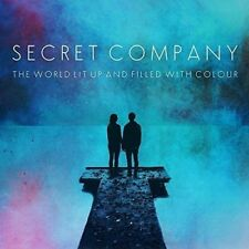 SECRET COMPANY - THE WORLD LIT UP AND FILLED WITH COLOUR   VINYL LP NEU
