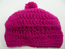 MAGENTA - INFANT/BABY SIZE - STOCKING CAP BEANIE HAT!