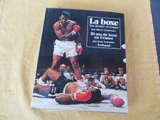 La BOXE son histoire / 70 ans de Boxe en France - Carpenter & Letessier - 1977