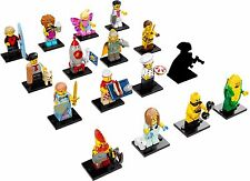 LEGO 71018 Mini-figures Series 17 Complete Set of 16  (New!!)