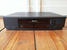 Philips VR 256 VHS HQ Videorekorder, HiFi Stereo, Turbo Drive, mit Zubehör