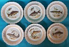SIX ASSIETTES PLATES EN PORCELAINE DE LIMOGES DE CHEZ  CHADELAUD Ref 3030120963