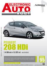 Manuale Diagnosi impianto elettrico ed elettronico auto - Peugeot 208 HDi