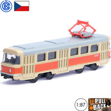 Diecast Vehicles Scale 1:87 Tram Tatra T3SU Soviet Russian Toy Cars