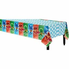 PJ MASKS PLASTIC TABLECOVER BIRTHDAY PARTY SUPPLIES TABLECLOTH